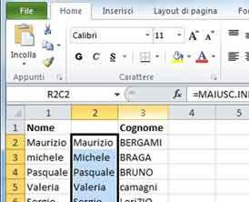 Con il Corso Excel Livorno capirai come formattare le celle definendo lo stile e il formato più consono per i dati che dovrai inserire.
