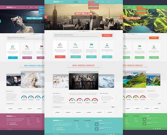 crea template con HTML5