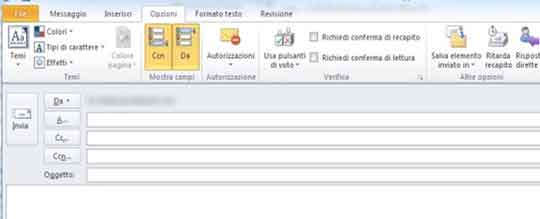 Foto1: Alcuni screen shot del corso di outlook
