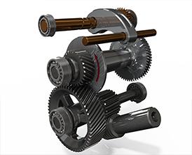 Sviluppa elementi meccanici con Solidworks