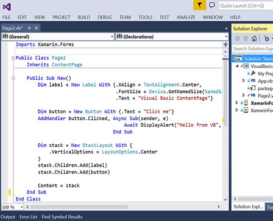 corso Visual Basic Canton Ticino: ecco cosa imparerai durante il corso - screenshot 1