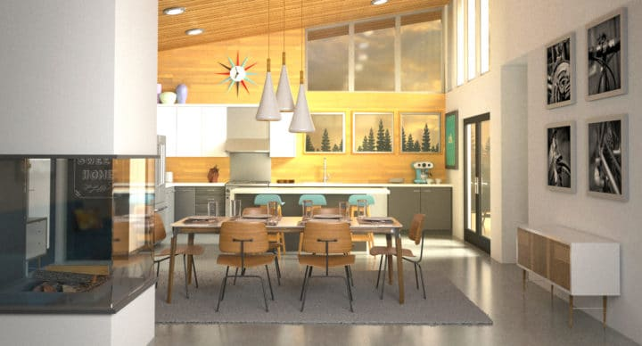 Corso 3D Studio Max Riviera: per creare un rendering fotorealistico