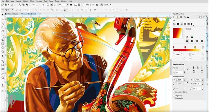 Corso Corel Draw Campobasso - Corso grafica vettoriale con Corel Draw