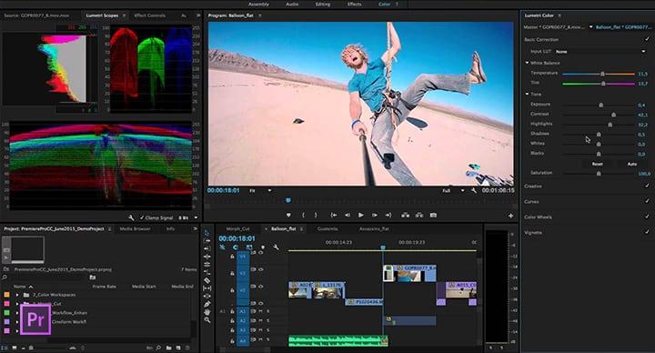 Corso Premiere Carrara: realizza e monta video con Premiere